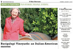 Bacigalupi Vineyards: an Italian-American success