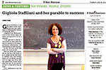 Gigliola Staffilani and her parable to success