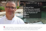 A Taste of Sun: Chef Maurizio Locatelli Turns Sardinia's Cuisine Into an Explosion of Flavors