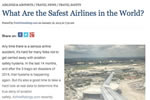 What Are the Safest Airlines in the World?